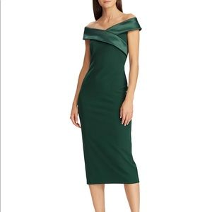 Lauren Ralph Lauren Emerald Green Dress